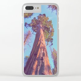 View to the sky Clear iPhone Case