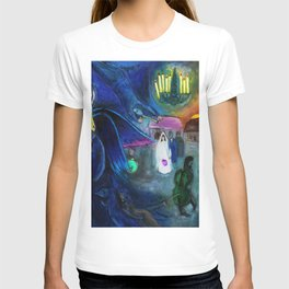 The Wedding by Marc Chagall T-shirt