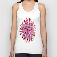 cage Tank Tops featuring Birds Cage by Brian Raggatt