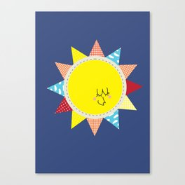 In the sun Canvas Print