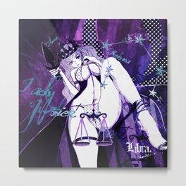 Libra:Lady Justice Metal Print