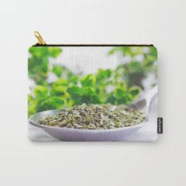 Kitchen Herbs Thym Carry-All Pouch