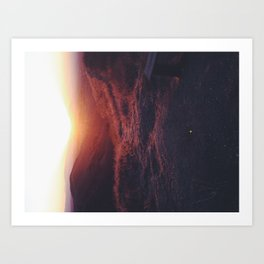 Fade to light Art Print