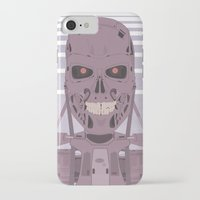 terminator iPhone & iPod Cases featuring Terminator  by avoid peril