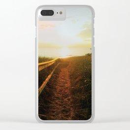 Beachwalk Clear iPhone Case