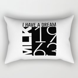 I Have A Dream Martin Luther King 1963 Rectangular Pillow