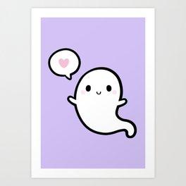 Cutie Ghost 02 Art Print