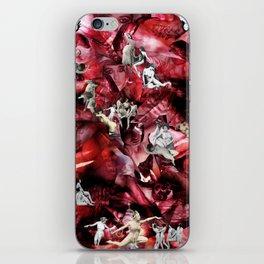 Scarlet Ocean Tempest iPhone Skin