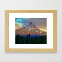 When Adventure Begins Framed Art Print