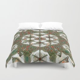 Abstruse Lines Kaleidoscope Duvet Cover