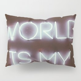The World is my Runway (color) Pillow Sham