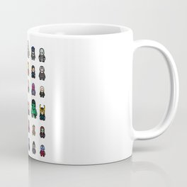All Characters Coffee Mug