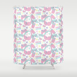 Game Lover Shower Curtain