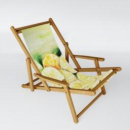 Limes and lemons Sling Chair