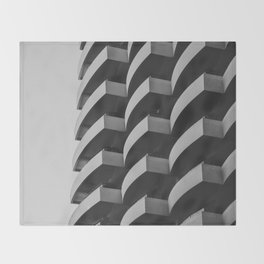 Fascinating Facade Throw Blanket
