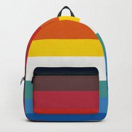 Multicolor Retro Stripes Trickster Backpack