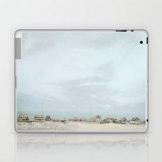 Sleepy Beach Town ~ Pastels Laptop & iPad Skin