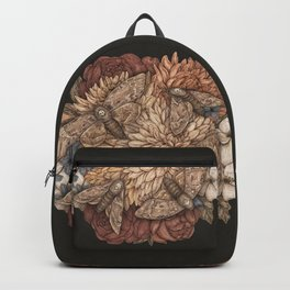 Flowers and Moths Backpack