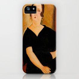 """Amedeo Modigliani """"Madame Amédée"""" iPhone Case"""