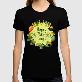 Happy St Patrick`s Day T-shirt