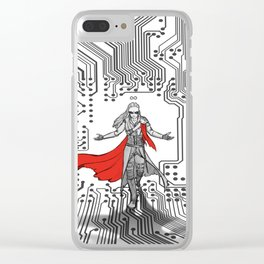 Commander of the Twelve Clear iPhone Case