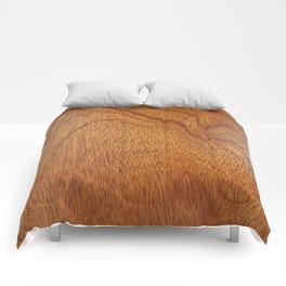 I Feel Woody, Oh So Woody (Wood Grain-Man Cave) Comforters