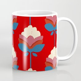 Retro fall florals n.1 Coffee Mug