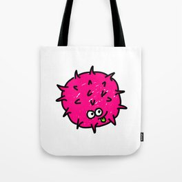 Pink Doodle Germ Tote Bag