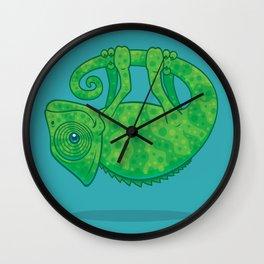 Magical Chameleon Wall Clock