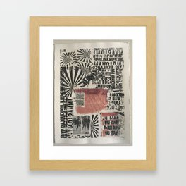 COPY Framed Art Print