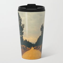 Vintage Faded Dusty Country Dirt Road Travel Mug