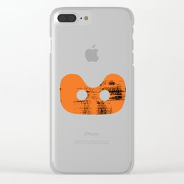 Rowing Boats - Seat 1 Clear iPhone Case