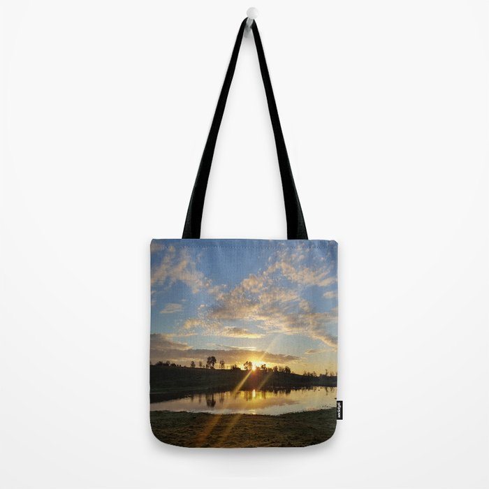 Inbetween Country and Paradise Tote Bag