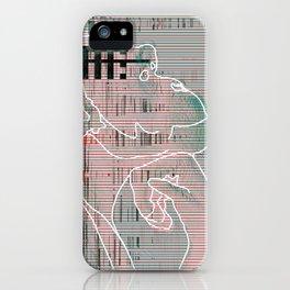 Monkey mind revolution iPhone Case