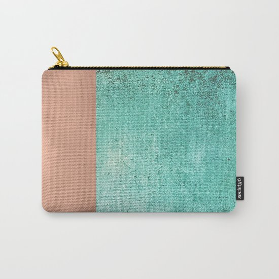 NEW EMOTIONS - ROSE & TEAL Carry-All Pouch