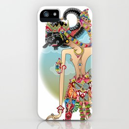 Antareja shadow Puppet character iPhone Case