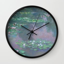 Water Lilies Monet 1905 Wall Clock