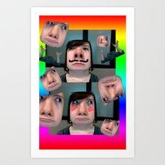 Photoshop Class Went Well Art Print