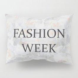 Fashion City: Fashion Week Pillow Sham