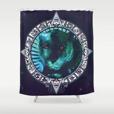 PanteraPlanetario Shower Curtain