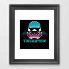 TROOPER Framed Art Print