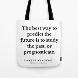37   |  Robert Kiyosaki Quotes | 190824 Tote Bag