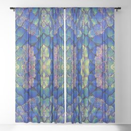 Snakeskin Sheer Curtain