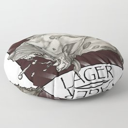 GMDs Laughing Hyena Lager Floor Pillow