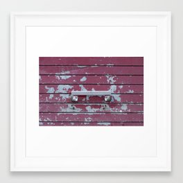 Handle Framed Art Print