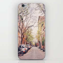 New York City - Springtime in the West Village iPhone Skin