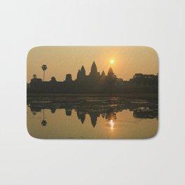 Angkor Wat Temple sunrise Bath Mat