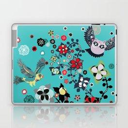 owl and lark Laptop & iPad Skin