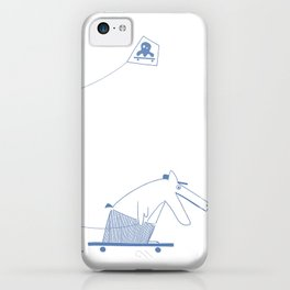 Blue Biboup iPhone Case