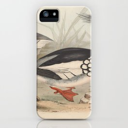 RED BREASTED MERGANSER iPhone Case